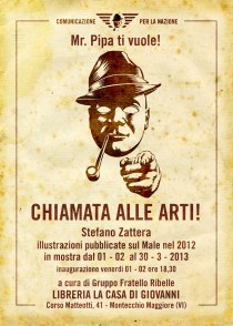 CHIAMATA ALLE ARTI - Stefano Zattera espone alla Libreria LA CASA DI GIOVANNI