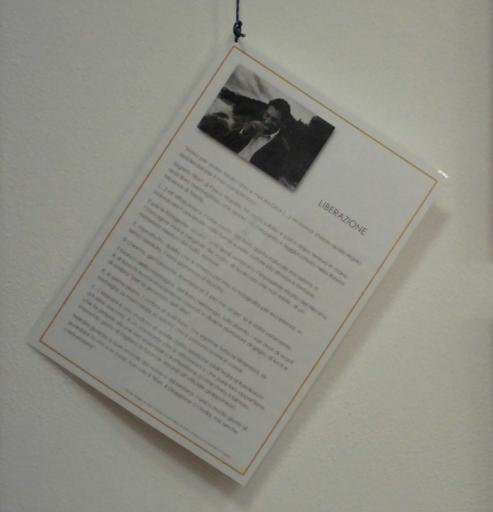 Il testo LIBERAZIONE di Claudio Magris tratto da DREN-GIONG