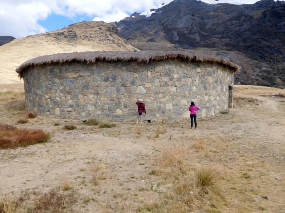 Il grande Tempio, costruito su suggestione del Padre archeologo Don Armando
