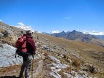Osservando la zona nord della Cordillera