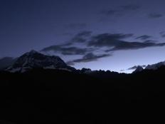 Il Chopicalqui di sera