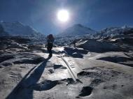 Sull'Alta Via dello Huascaran