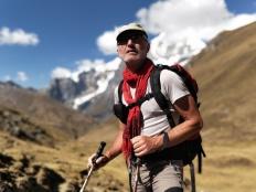 Ritratto sulla Cordillera Huayhuash
