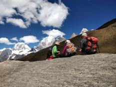 Contemplazione e riposo sulla Cordillera Huayhuash
