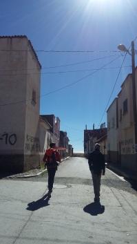 Per le strade di Santiago de Hauta