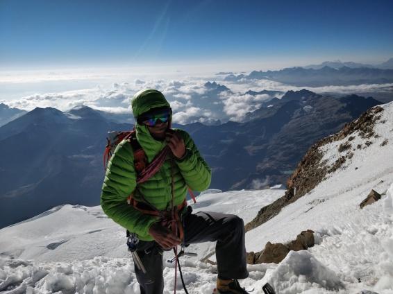 Davide Vitale, salita allo Huayna Potosí