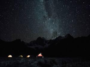Notte sul Campo Jahuacocha