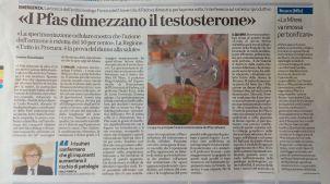 la prova provata pfas testoterone