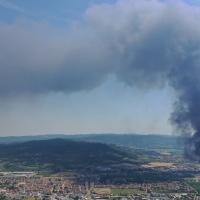 SOMMOVIMENTI fisici e culturali | ASSEMBLEA NO PFAS fronte MITENI + incendio «APOCALITTICO» tra BRENDOLA e MONTECCHIO